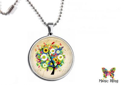 Flower Tree Pendant