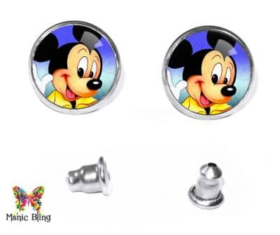 Mickey Mouse Stud Earrings