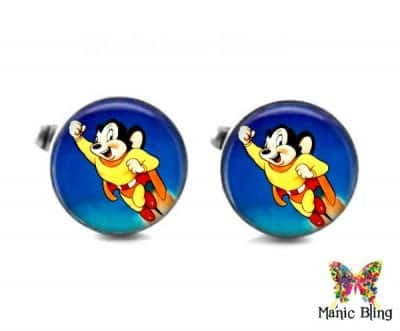 Mighty Mouse Cufflinks