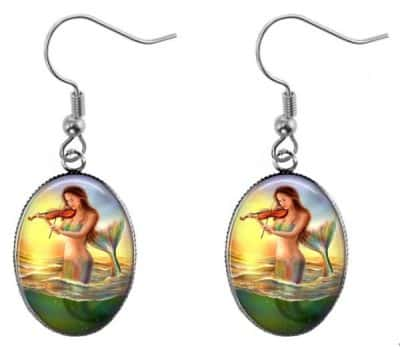 Musical Mermaid Earrings