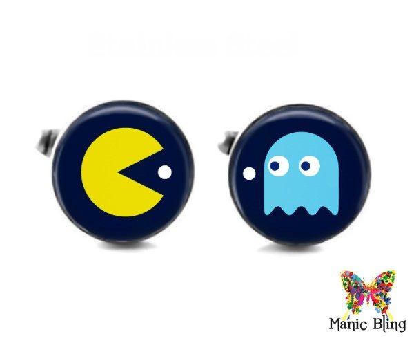 Pac Man Cufflinks