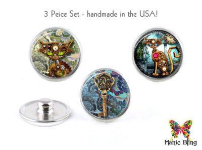 Steampunk Jewelry Snaps